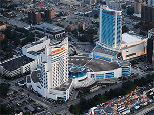 Casesars Windsor aerial picture