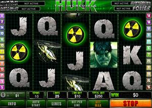 Incredible hulk slot free play