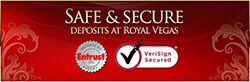 Royal Vegas casino is secure
