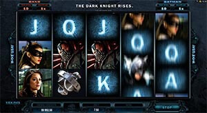 The dark knight rises slot game