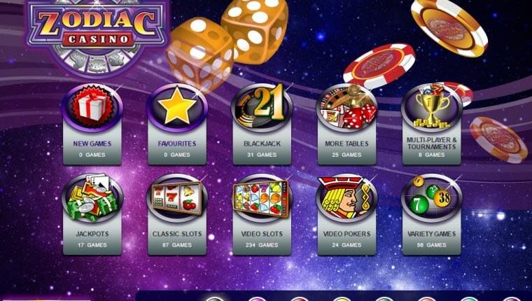 Online Casino Zodiac