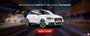 Join the Race to Own a Brand New Audi at Slots Magic